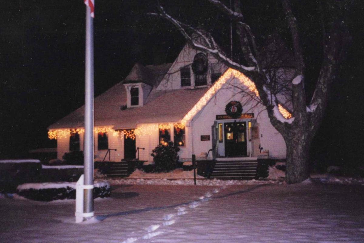 Town Hall in Wintertime