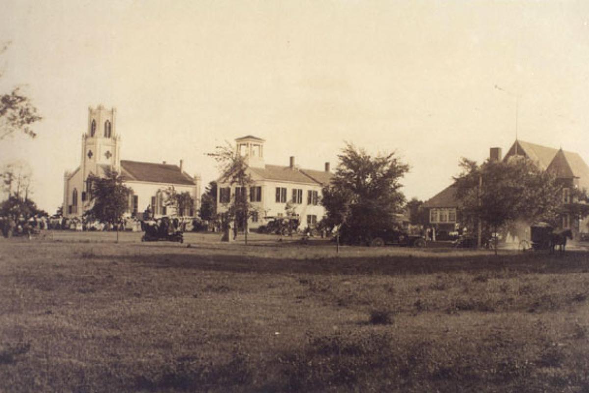 Historic Town Common (1909)